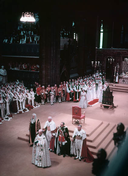 queen elizabeth ii coronation. Queen Elizabeth II is crowned